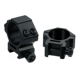 UTG 30mm/2PCs Low Profile Picatinny/Weaver Rings - UTH Leapers