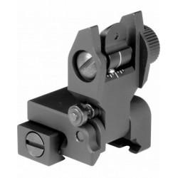 AR-15 REAR FLIP-UP SIGHT low profile - AIM Sports
