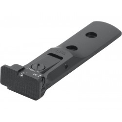 Rear sight  with target blade