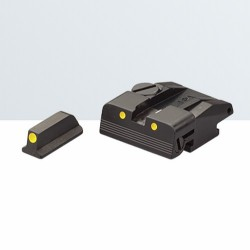 Set di mira LPA per S&W SW99, Walther P99, PPQ, PPQM2 (NO Cal. 22)