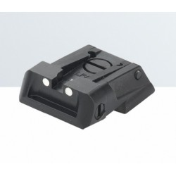 LPA rear sight for Colt XSE, STI Tactical 45 all standard Novak cut fix