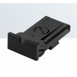 LPA rear sight for Tanfoglio Match, Stock II, Stock III, 1911 Custom (no milling necessary)