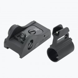 Adjustable sight set for semi-automatic shotguns - LPA SIGHTS