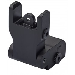 LPA rear sight for assault rifles