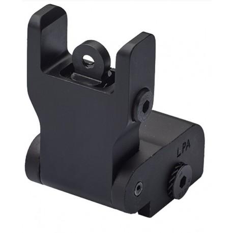 LPA rear sight for assault rifles