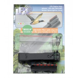 Adjustable slug sight set