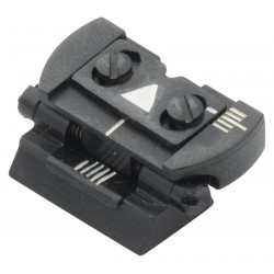 Folding rear sight