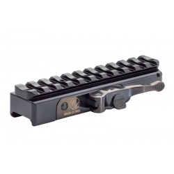 Quick Tactical Detachable mount for Picatinny Rail SIMPLE BLACK TACTICAL RED-DOT - CONTESSA