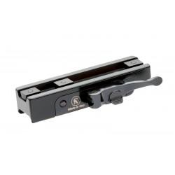 Quick Tactical Detachable mount for Picatinny Rail SIMPLE BLACK TACTICAL ZEISS/LEICA/DOCTER/SCHMIDT&BENDER - CONTESSA