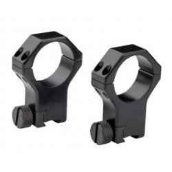 Pair of Rings for rifle with dovetail rail 11/12 mm-60° - ø 30mm H 26mm SR - CONTESSA