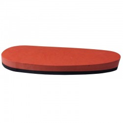 English recoil pad, full, red, mm 15