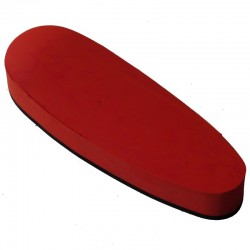 English recoil pad, full, red, mm 25