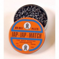 JAP - JAP - MATCH AIR-RIFLE PELLETS Ga 4,5