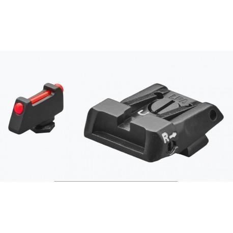 LPA sights set for Glock 17,19,20,21,22,23,25,26,27,28,29,30,31, 32,34,35