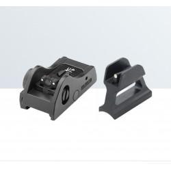 WEAVER/PICATINNY Adjustable tactical sight set for semi-automatic and pump action shotguns  - LPA SIGHTS