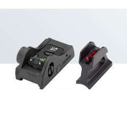 Conjunto de mira táctica ajustable WEAVER/PICATINNY para las escopetas semiautomáticas y de bombeo - LPA SIGHTS