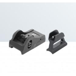 Set di mira tattico regolabile WEAVER/PICATINNY per fucili semi-automatici e a pompa - LPA SIGHTS