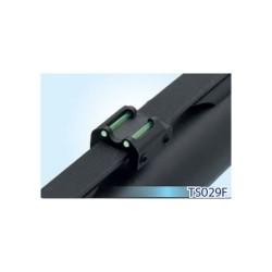 LPA slug rear sight with fiber optic